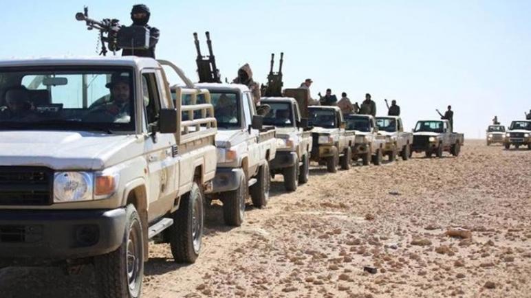 قوات الوفاق الليبية على مشارف مدينة سرت والسيسي يريد إنقاذ حفتر