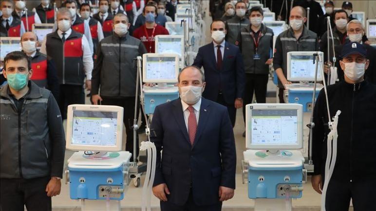 تركيا.. بدء الإنتاج الكمي لأجهزة التنفس الصناعي