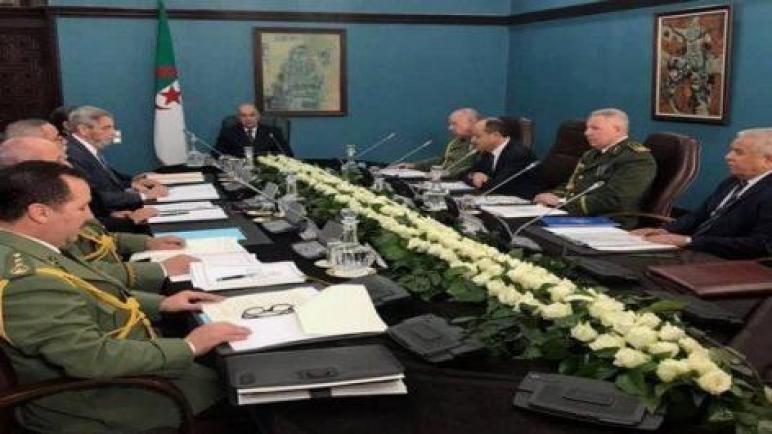 بيان اجتماع المجلس الأعلى للأمن حول فيروس كورونا